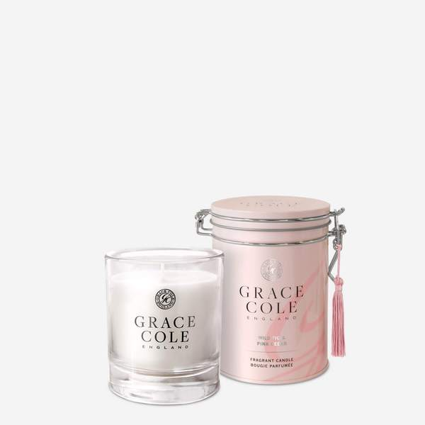 Wild Fig & Pink Cedar 200g Candle / Wild Fig & Pink Cedar 200g Luxury Candle in Decorative Tin