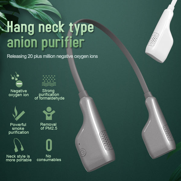 HIGH STREET hang neck type anion purifier.