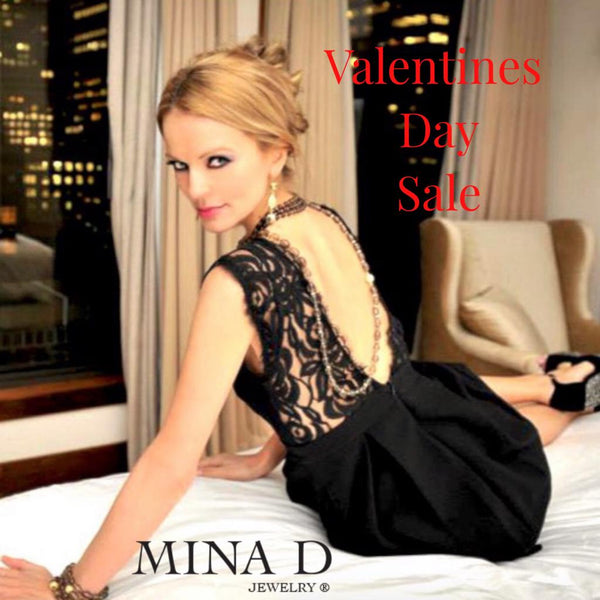 Celebrate Valentine's Day with Mina D Jewelry