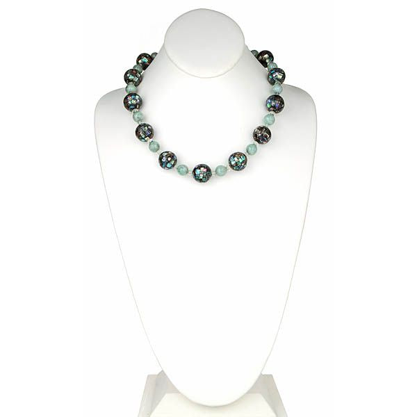 Abalone Mosiac Necklace