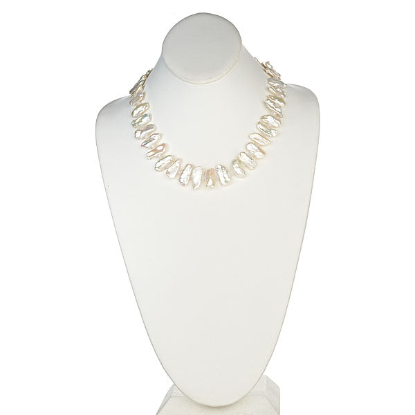 Biwa Freshwater Pearl Necklace