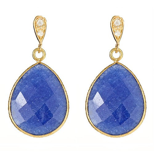 Saphire Vermeil Earrings