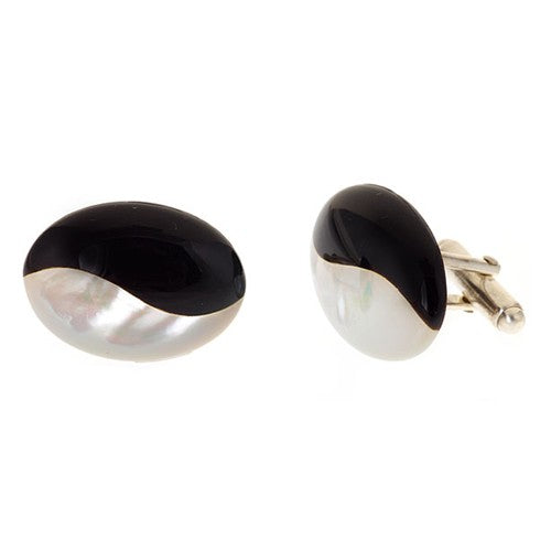 Onyx & Mother of Pearl Cufflinks
