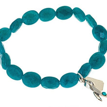 Load image into Gallery viewer, Ovarian Cancer Awareness Bracelet