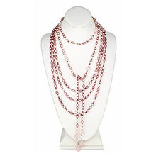 Load image into Gallery viewer, Pink Pearl Lariat