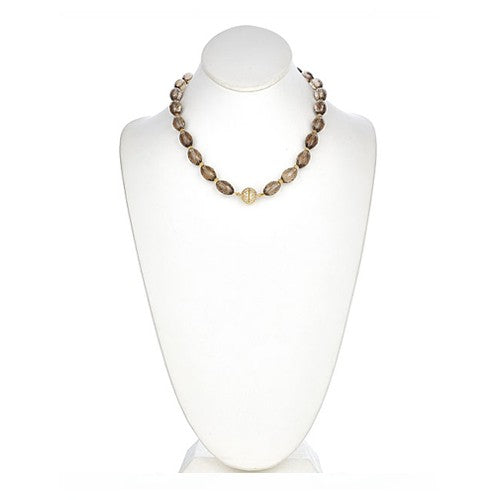 Smoky Quartz Necklace Signature Collection