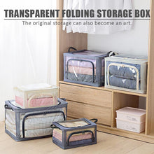 Load image into Gallery viewer, Transparent Folding Storage Box