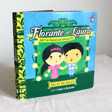 Load image into Gallery viewer, FLORANTE AT LAURA: Aklat ng Kulay (A Board Book of Colors)