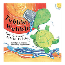 Load image into Gallery viewer, TUBBLE WUBBLE: The Clumsy Little Turtle