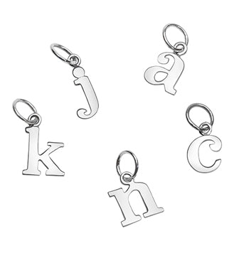 Love Letters Lower case - Sterling Initials