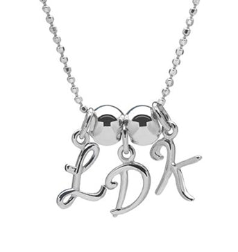 Love Letters - Sterling Initials