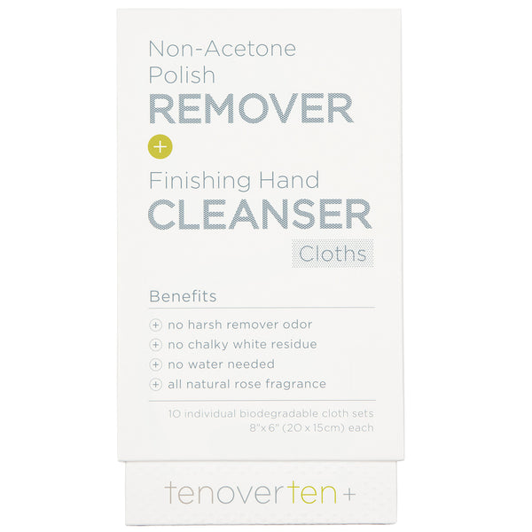 Polish Remover & Hand Cleanser Cloths
