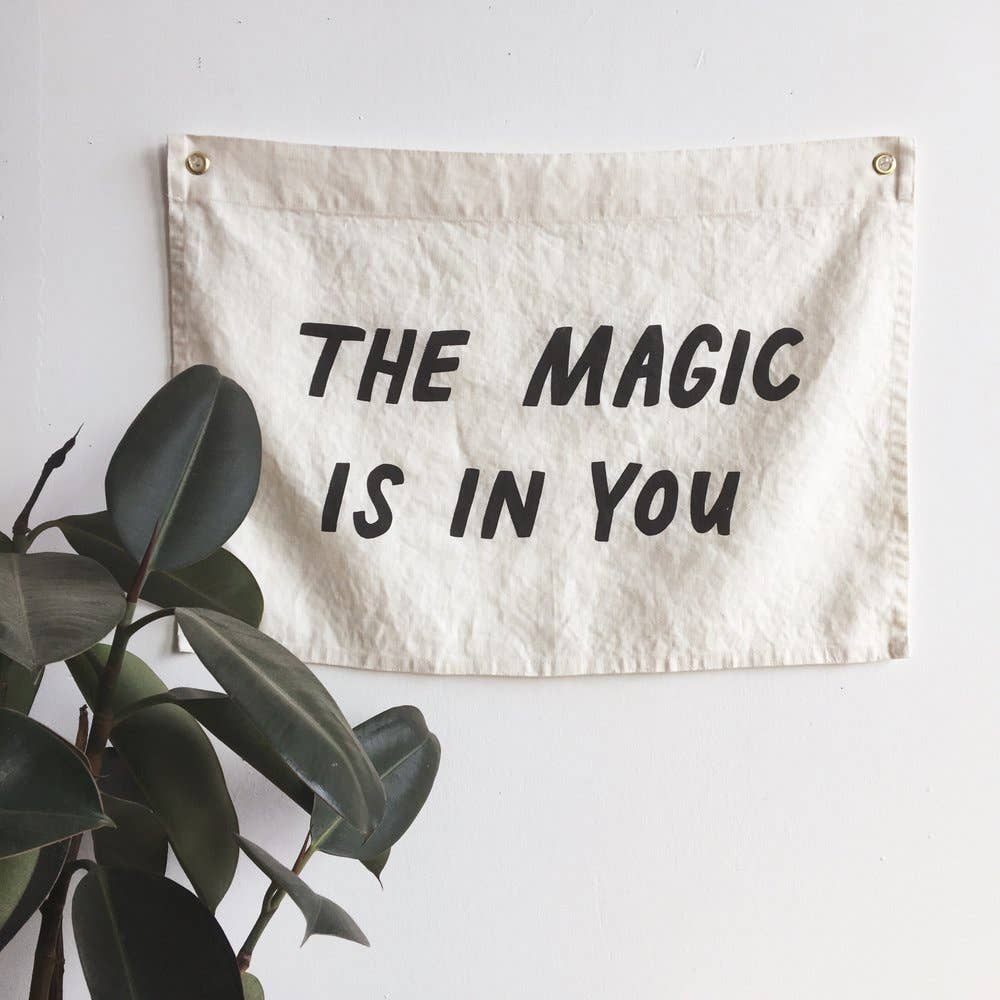 MAGIC Flag / ivory, printed
