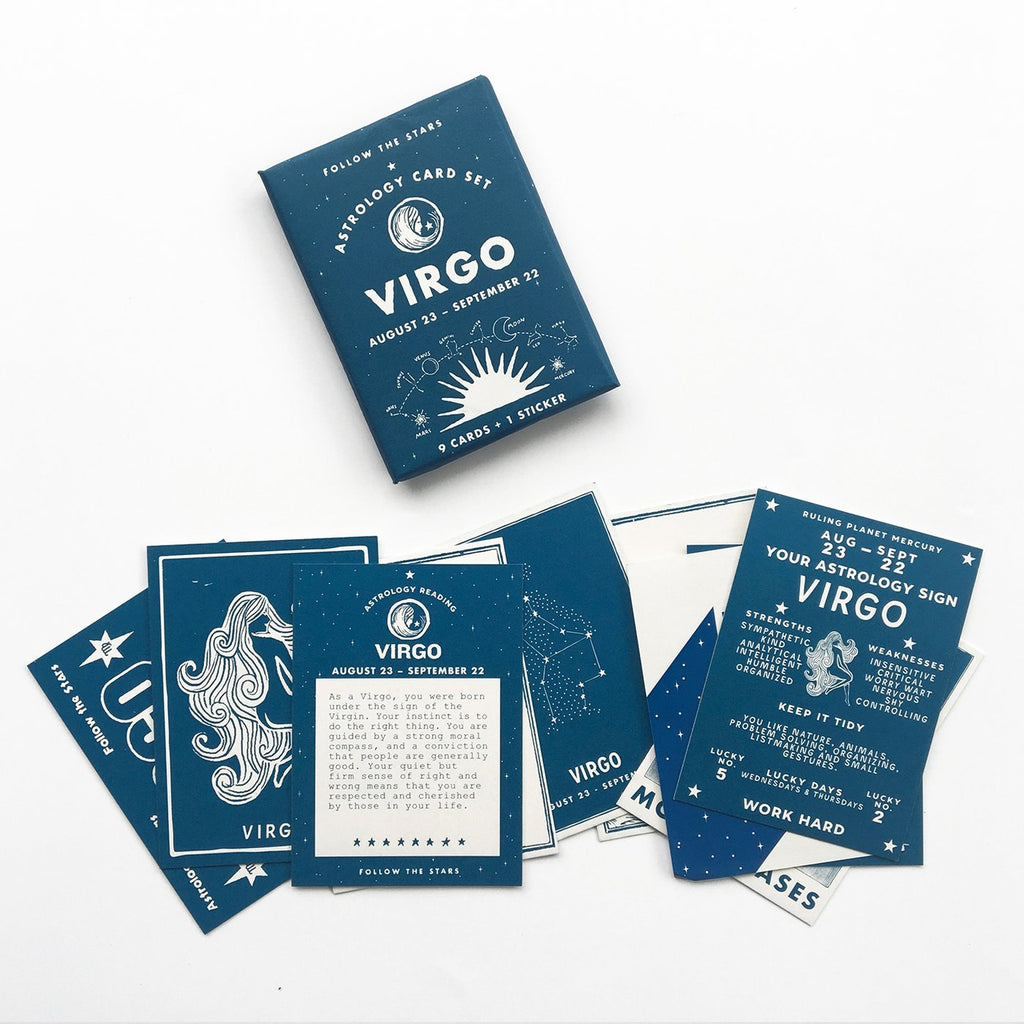 VIRGO Astrology Card Set (Aug 23- Sept 22)