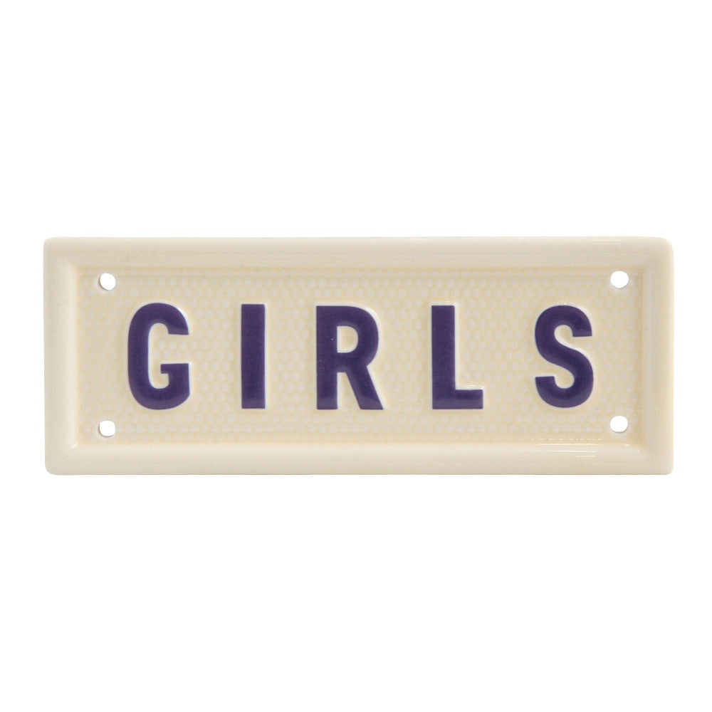 GIRLS SIGN
