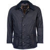 Ashby Wax Jacket, Navy