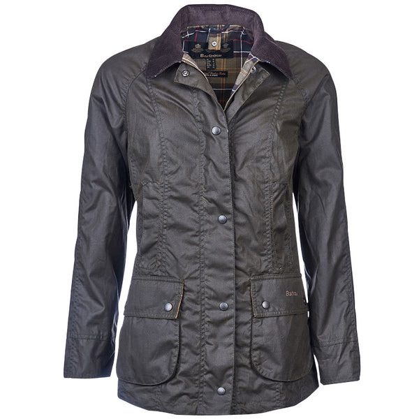 Beadnell Wax Jacket, Olive