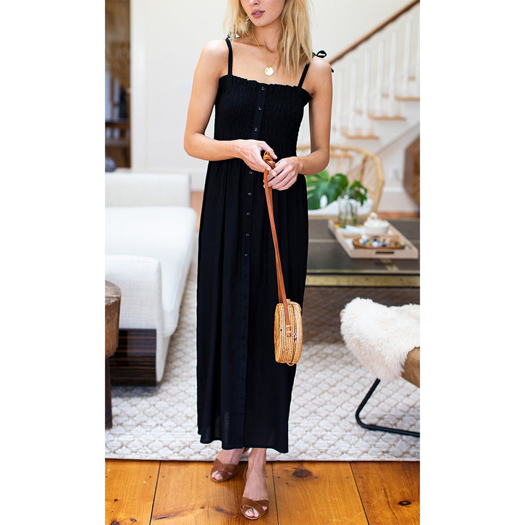 Black Santiago Dress
