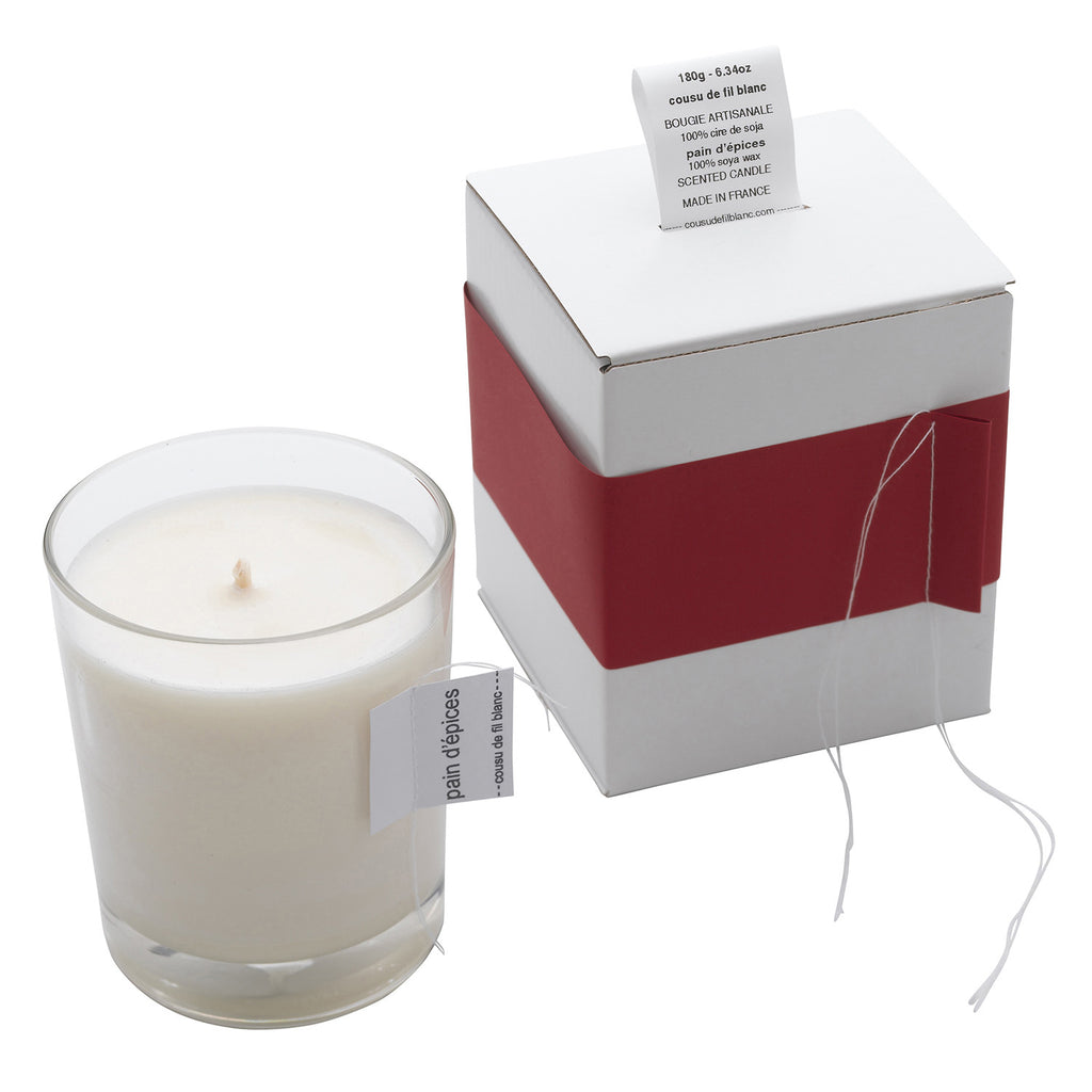 Christmas Collection, Gingerbread Candle, Large