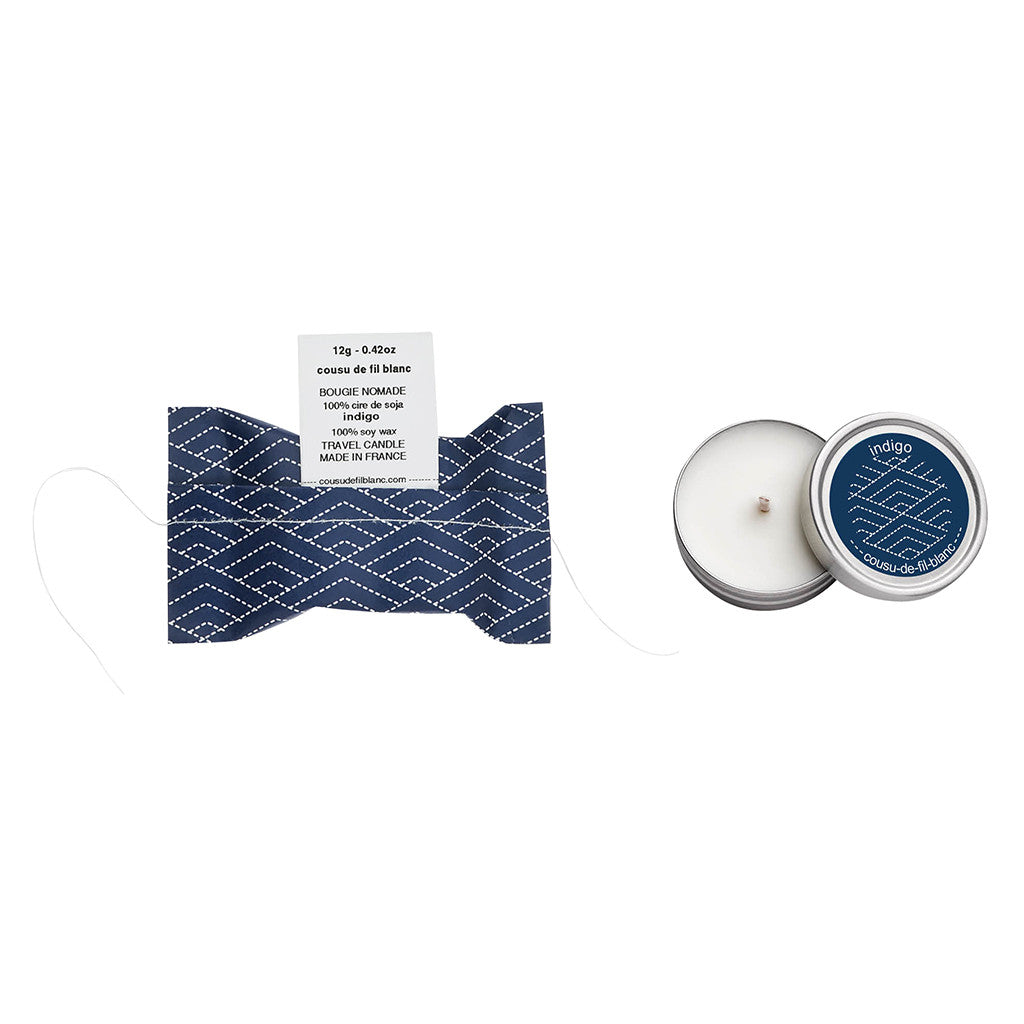 Indigo Travel Candle