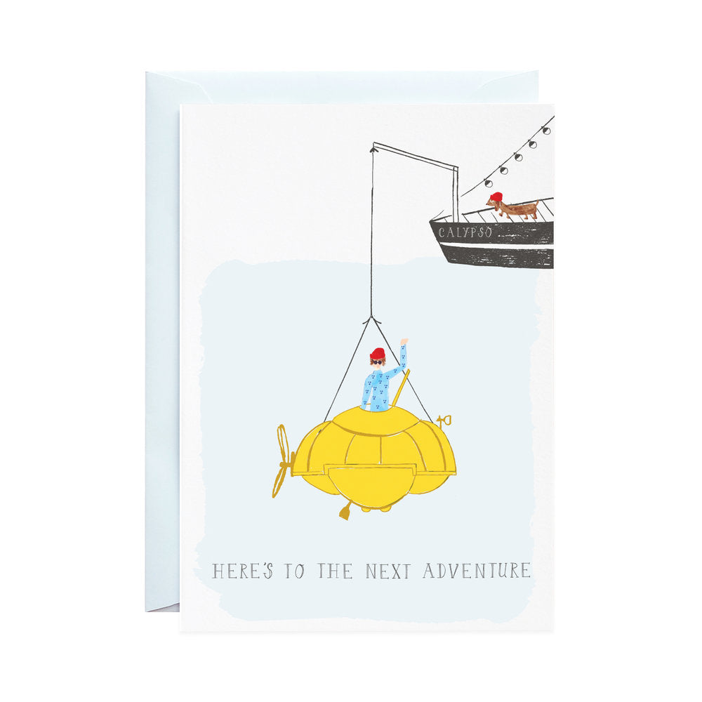 The Explorer - Greeting Card