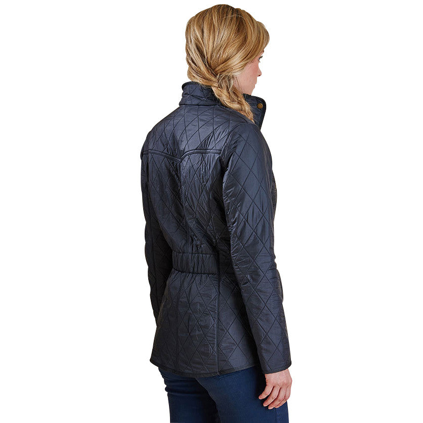 Ladies Cavalry Polarquilted Jacket, Navy