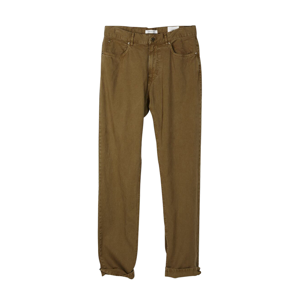 Corduroy 5 Pocket Pant, Rubber