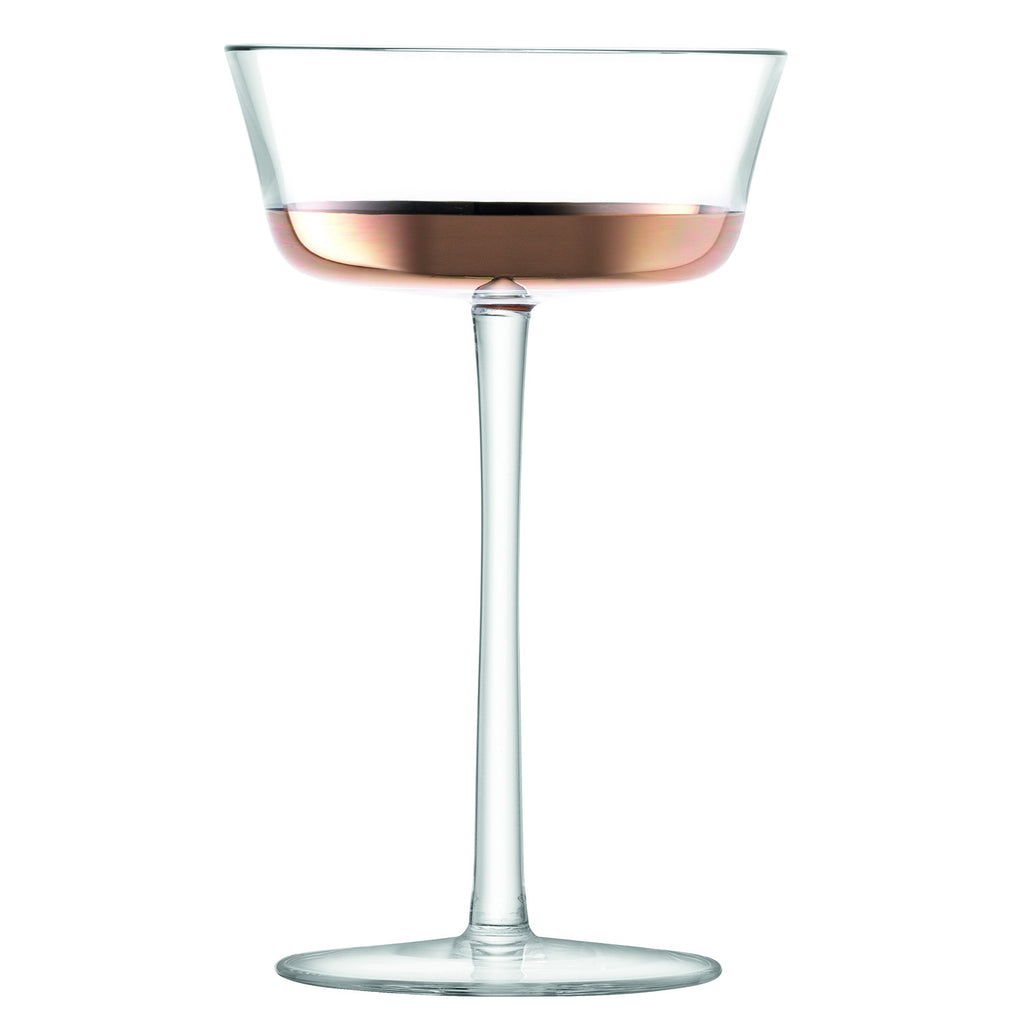 Edge Champagne Saucer (Set of 2)
