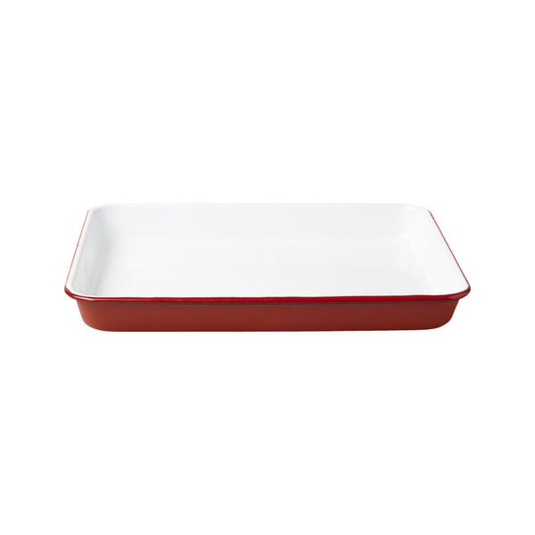 Serving Tray, Red