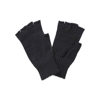 Fingerless Gloves, Black