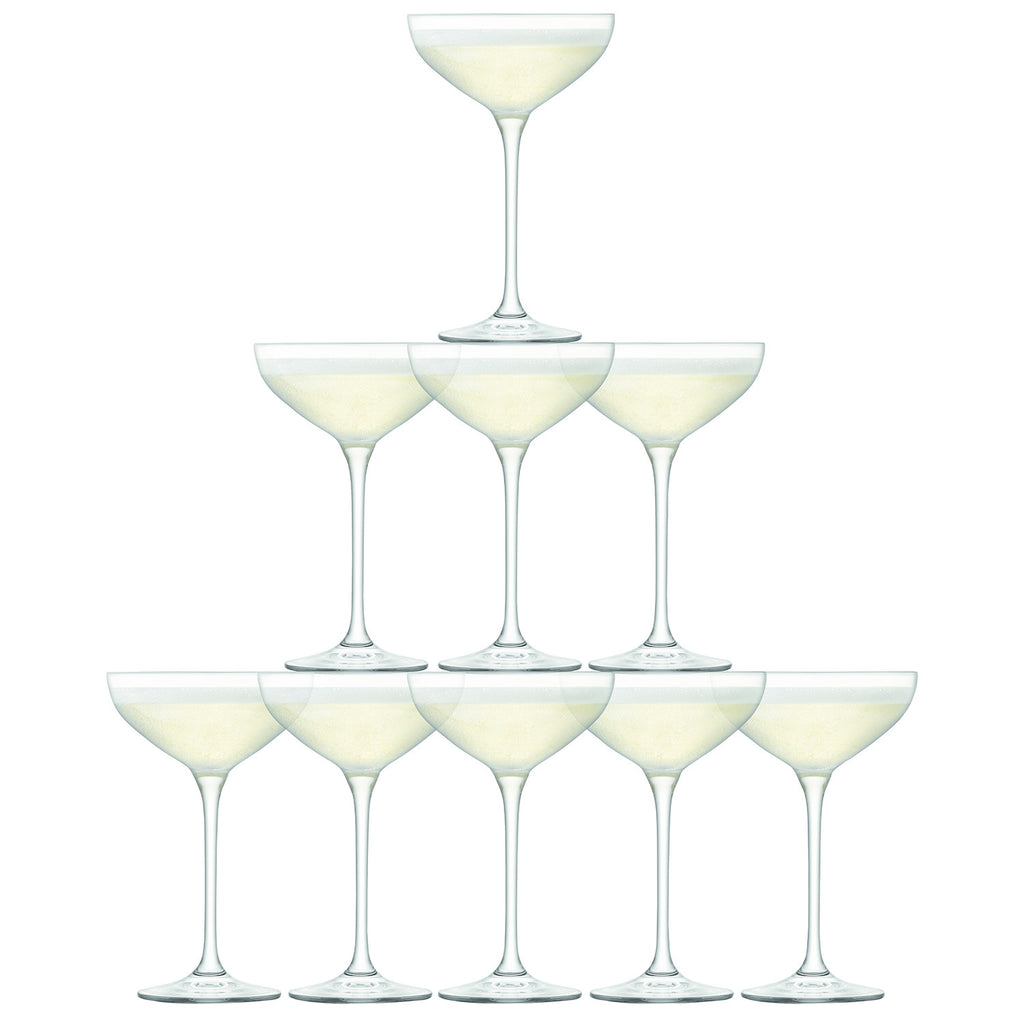 Tower Champagne Set (Set of 10)