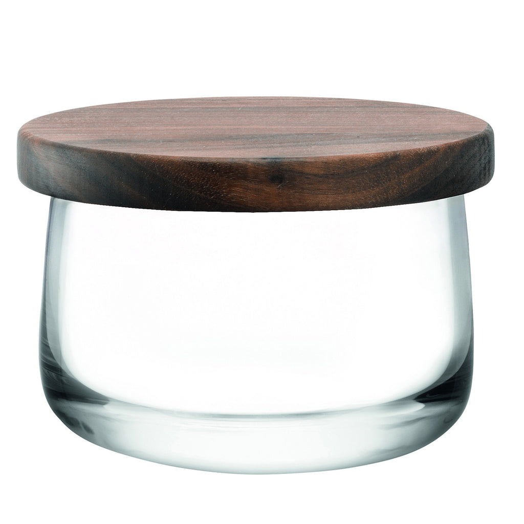 City Bowl & Walnut Lid, 12.5 in