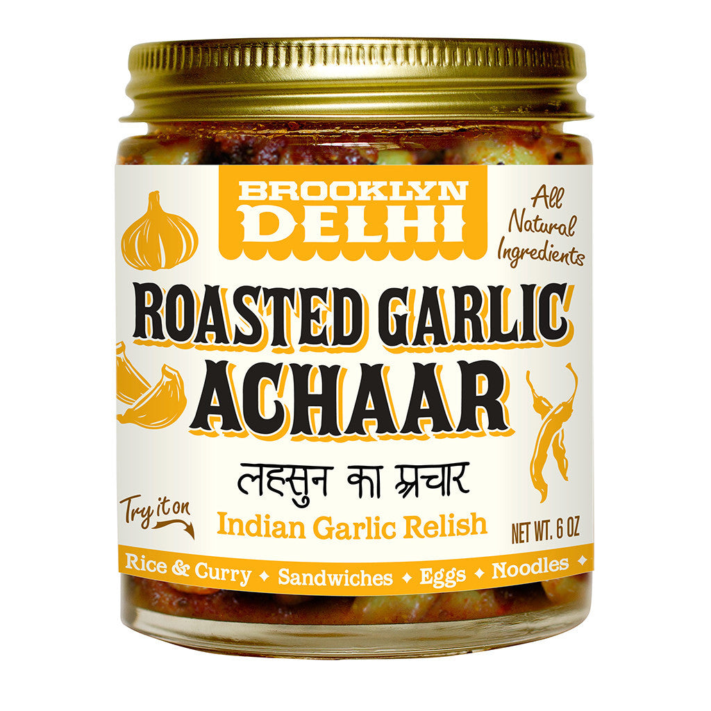 Roasted Garlic Achaar