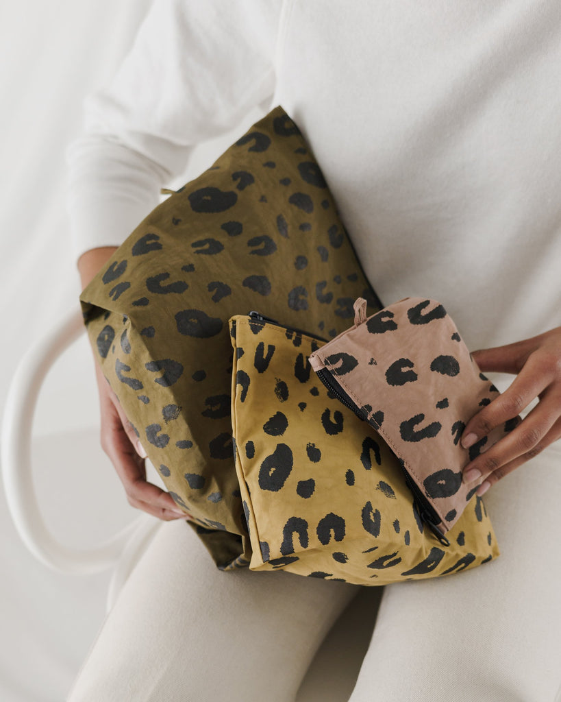 Go Pouch Set - Cheetah
