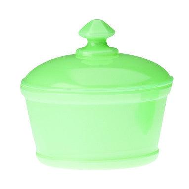 Jadeite Butter Tub