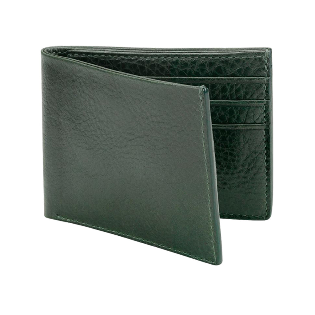 Leather Bifold Wallet, Chocolate