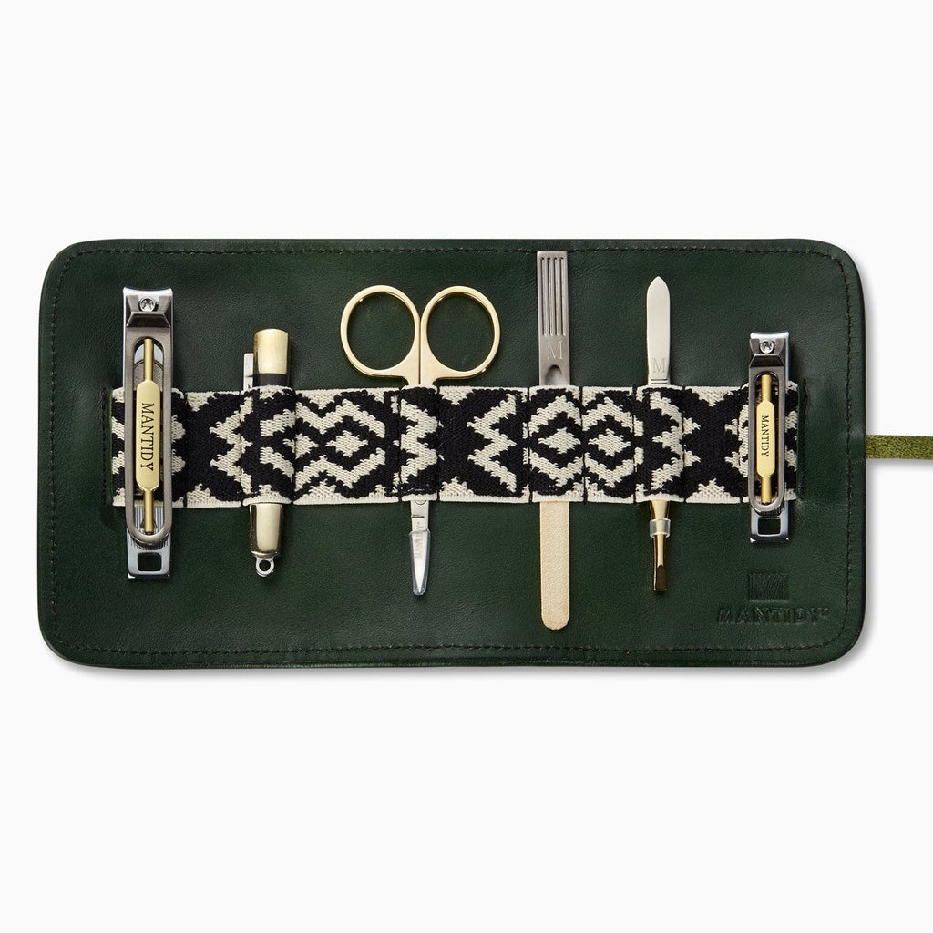 Grooming Roll - Racing Green/Black