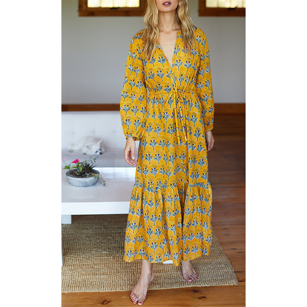 Marigolds Yellow Frances Dress 2