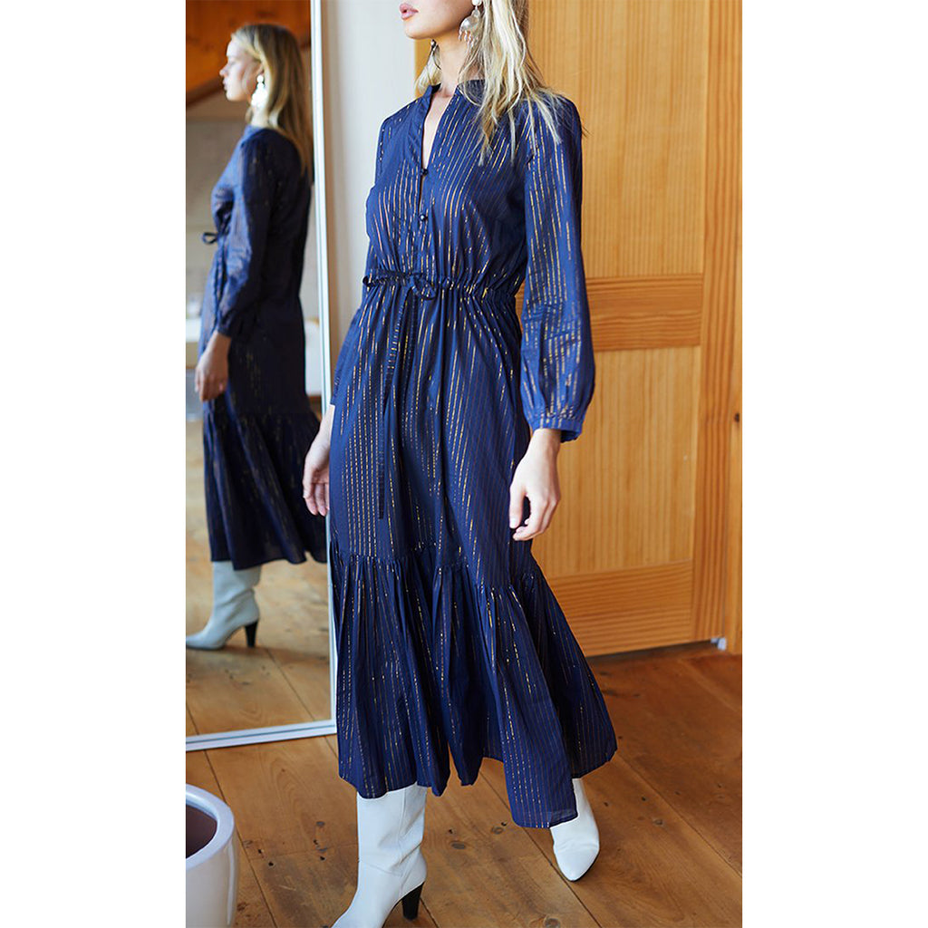 Maritime Lurex Frances Dress 2