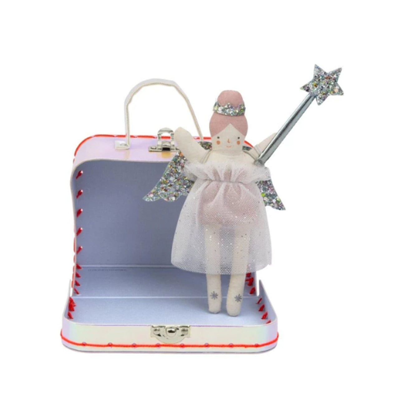 Mini Evie Suitcase Doll