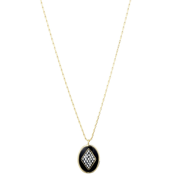 Orphee Necklace, Black
