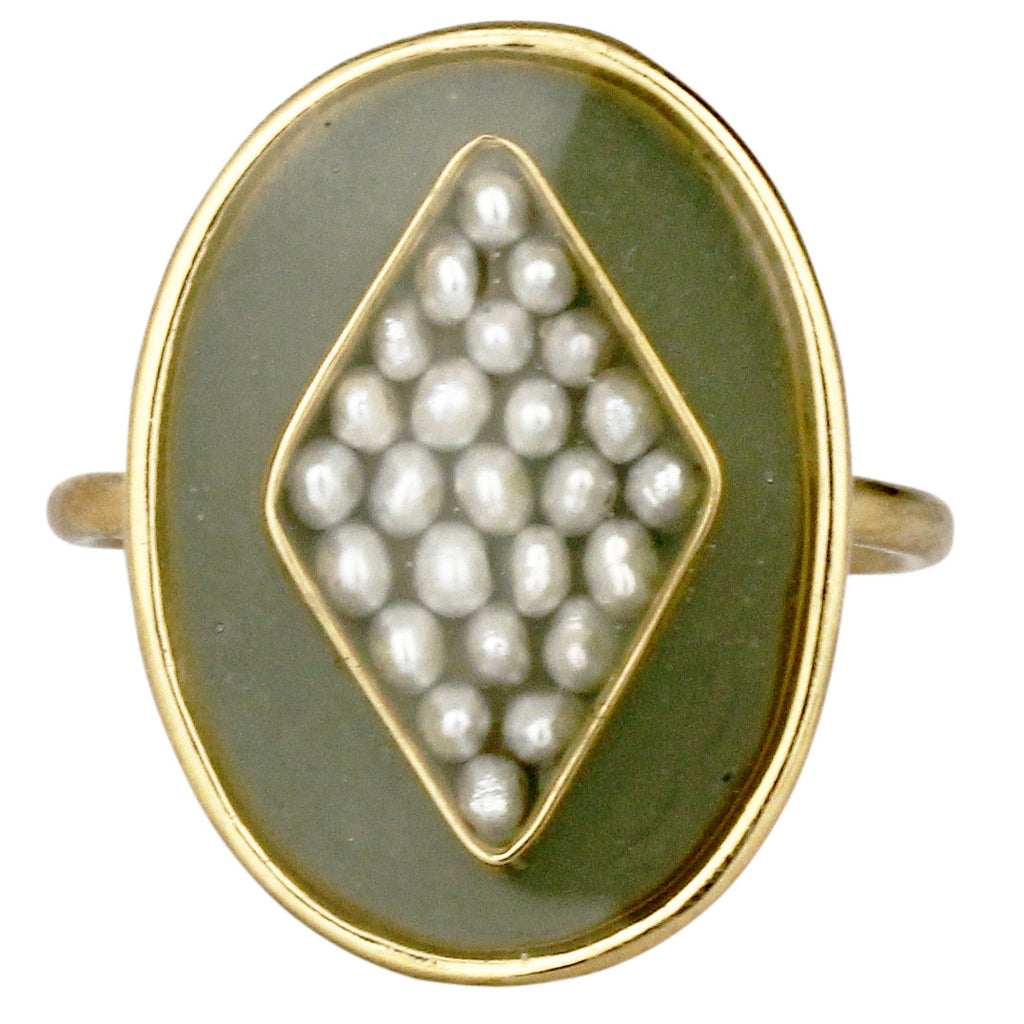 Orphee Ring, Green