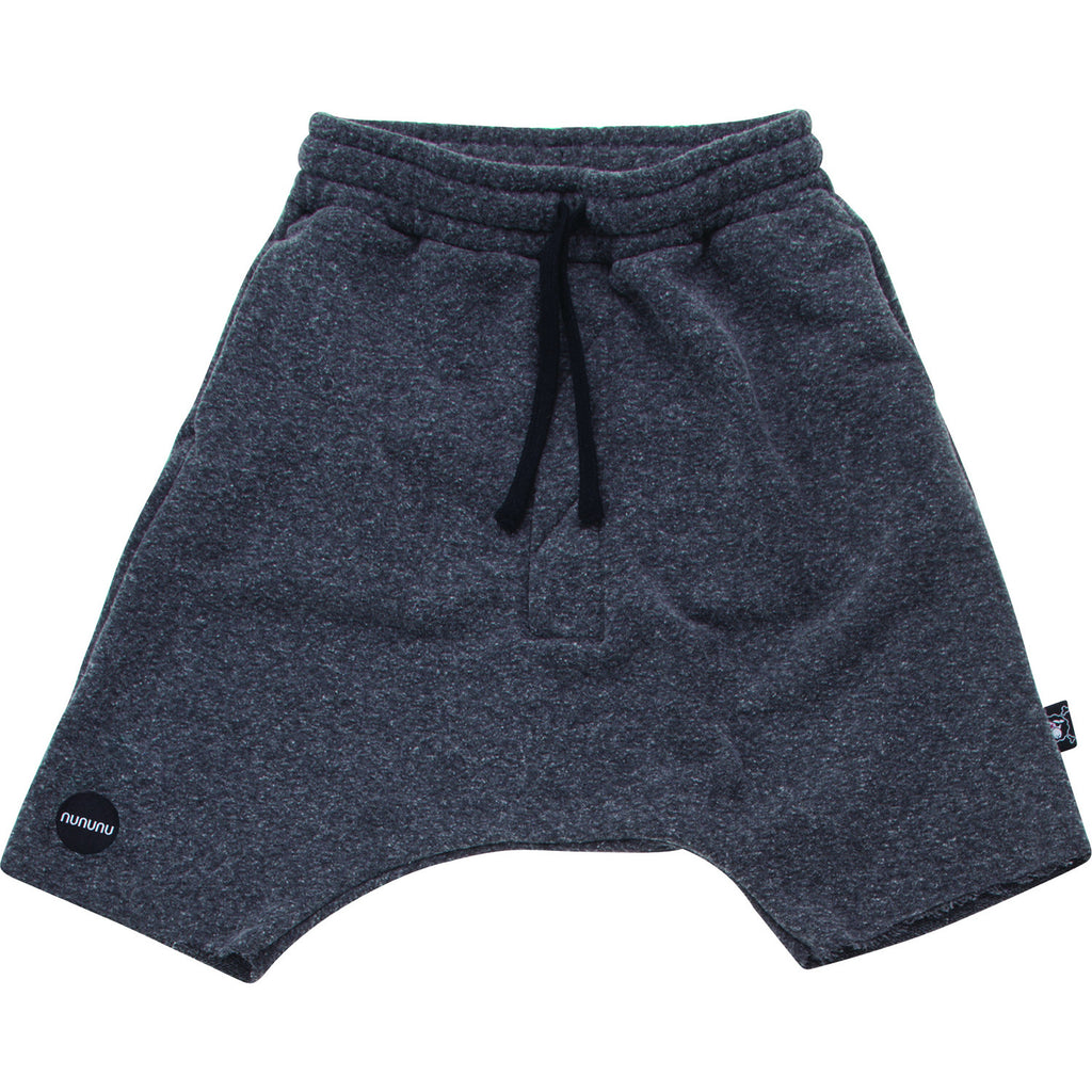 Charcoal Grey Oversized Shorts