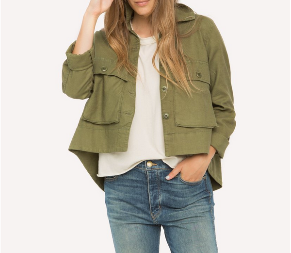 The Swingy Army Jacket- SAVE 20%