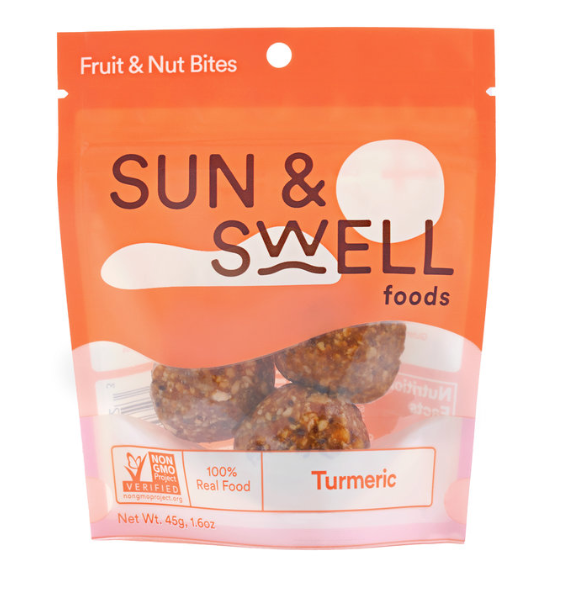 Turmeric Fruit & Nut Bites