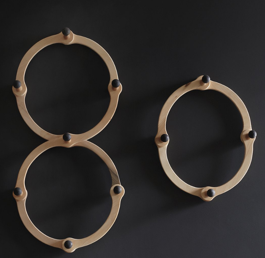 Occordian Coat Rack - Quad O