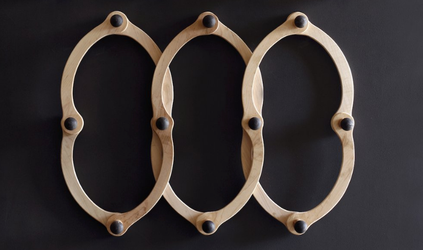 Occordian Coat Rack - Double O