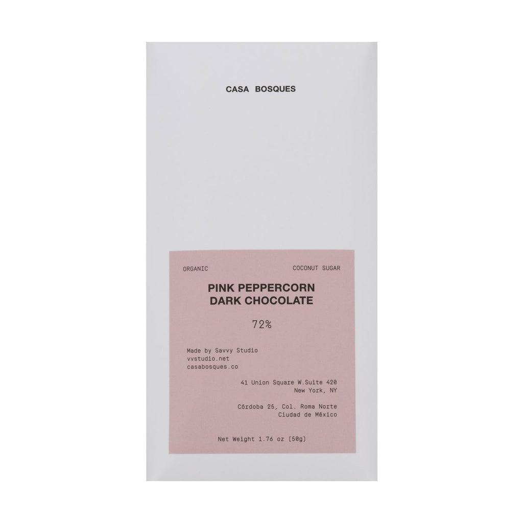 Pink Peppercorn Organic Chocolate Bar