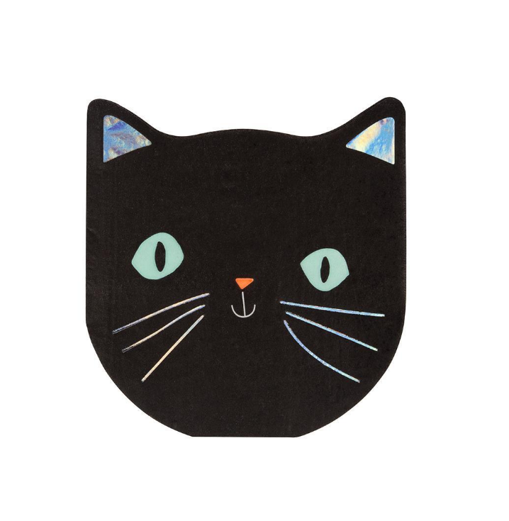 Cat Napkins Small