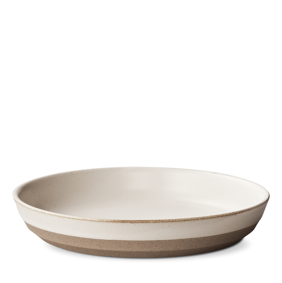 Ceramic Lab Deep Plate- Beige